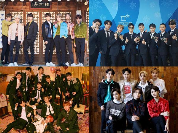 Pertama dalam Sejarah Billboard, 4 Grup K-Pop Dominasi Chart Social 50