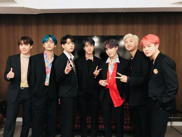 BTS Sukses Megahkan Panggung SNL dengan 'Boy with Luv' dan 'MIC Drop'