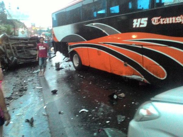 Kecelakaan Beruntun di Kawasan Puncak, Sopir Bus Jadi Tersangka