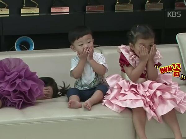 Dapat Hadiah Peliharaan Baru, Begini Ekspresi Lucu Ketiga Balita Lee Dong Guk