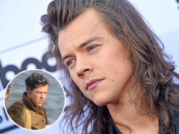 Sempat Tampil Gagah, Harry Styles Terlihat 'Kotor' dan Kumal di Proyek Debut Film