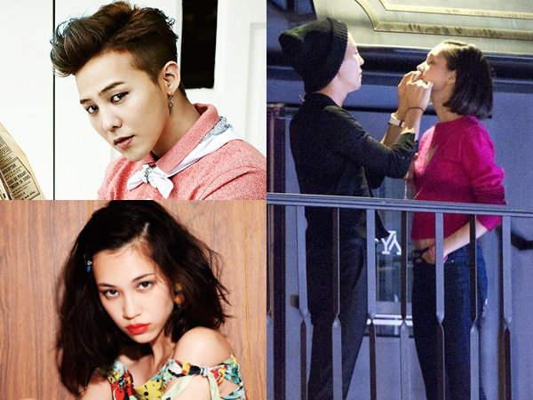 G-Dragon dan Mizuhara Kiko Tertangkap Kamera Sedang Bermesraan di Seoul!