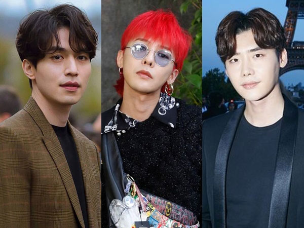 Intip Gaya G-Dragon Hingga Lee Jong Suk Saat Hadiri Gelaran 'Paris Fashion Week'