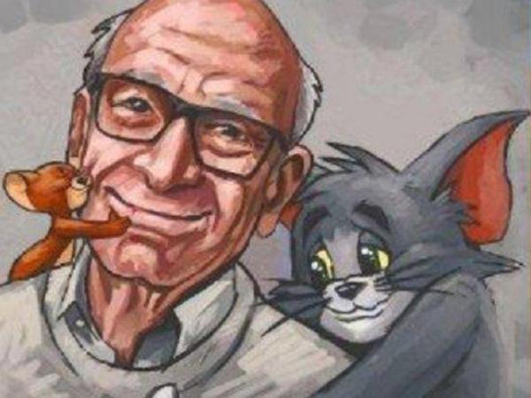 Ilustrator 'Tom and Jerry' Gene Deitch Meninggal Dunia Saat Karantina