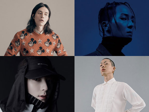 Lee Dong Wook, Mino, Minhyun, dan Oh Hyuk Jadi 'Men of the Year of 2019' GQ Korea