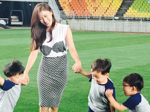 Serunya, Ha Ji Won Terlihat Main Bersama dengan Daehan Minguk Manse!