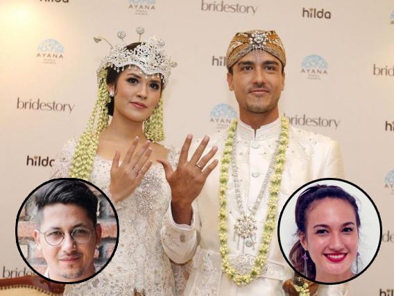 Hamish-Raisa Resmi Nikah, Apa Tanggapan Keenan Pearce dan Nadine Chandrawinata?