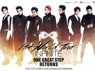 Ini Kejutan yang Akan Ditampilkan Infinite dalam Penutup Konser Tur Dunianya!