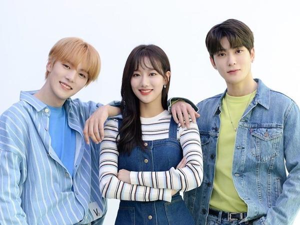 Minhyuk MONSTA X, Naeun APRIL, dan Jaehyun NCT Tampilkan Chemistry Sebagai MC Baru 'Inkigayo'