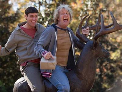 Intip Konyolnya Aksi Jim Carey dan Jeff Daniels di 'Dumb and Dumber To'