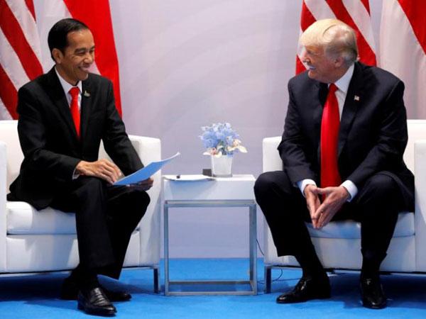 Sempat Salah Posting Foto Jokowi di Instagram, Donald Trump Diprotes Netizen