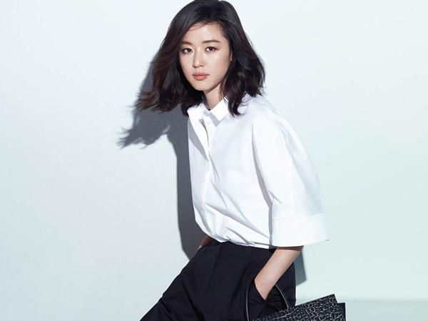 Tetap Cantik, Jun Ji Hyun Terlihat Muncul Perdana di Depan Publik Pasca Melahirkan