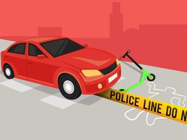Detail Kecelakaan Mobil Tabrak Skuter Listrik yang Viral Disebut Luput dari Media