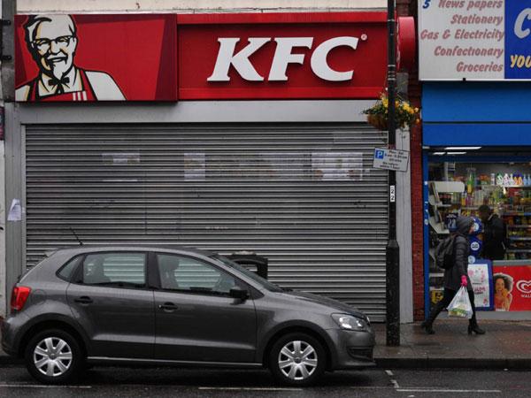 Duh, KFC Inggris Tutup Ratusan Gerai Karena Kehabisan Ayam?