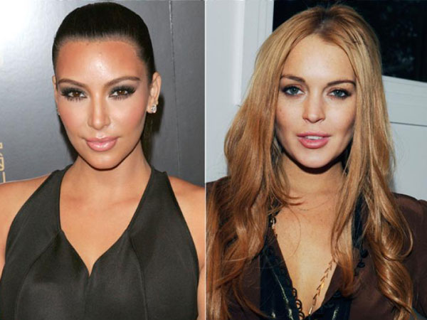 Kim Kardashian dan Lindsay Lohan Saling Sindir di Instagram?
