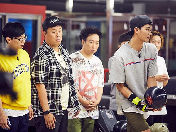 Intip Aksi Memukau Bowling Kim Soo Hyun Sukses Kalahkan Tim 'Infinity Challenge'