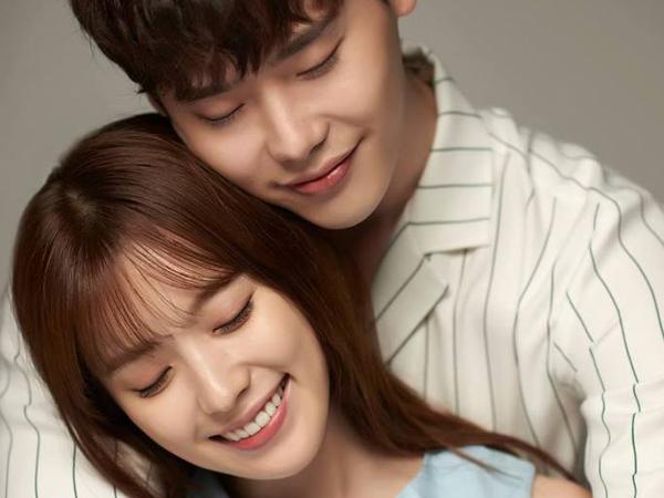 Pakai Baju Couple, Lee Jong Suk dan Han Hyo Joo Tengah Asik Berkencan?