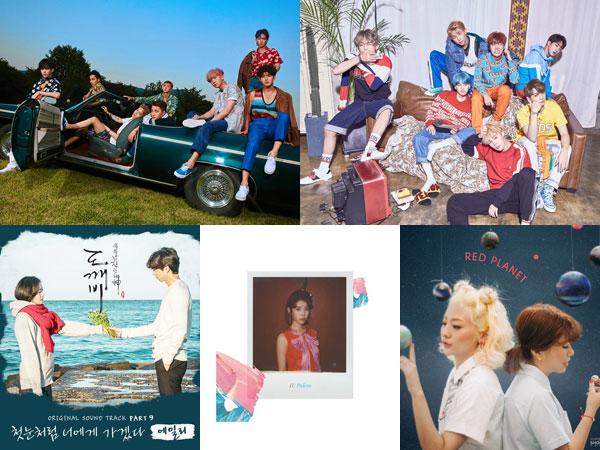 Lagu-lagu Paling Disukai Pendengar Sepanjang 2017 dalam Chart Akhir Tahun MelOn