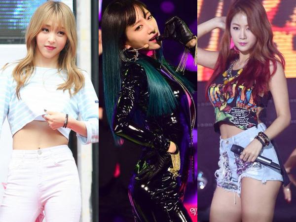 Tiga Idola K-Pop Wanita Bershio Monyet Ini Paling Diinginkan Debut Solo Tahun 2016!