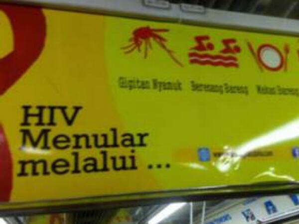 Kesalahan Poster Waspada HIV Buat Heboh Netizen