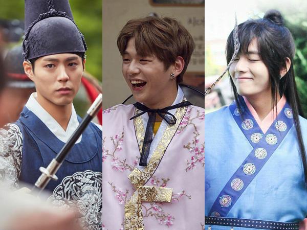 Park Bo Gum, Kang Daniel Wanna One, dan V BTS Terpilih Jadi Seleb Paling Menawan Pakai Hanbok
