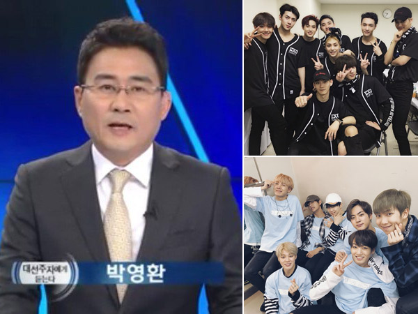 Sebut EXO Kalah Populer dari BTS, Presenter Berita KBS Minta Maaf Usai 'Diserang' Fans