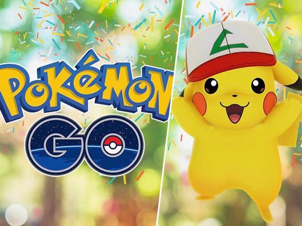 Bersiap Terpapar Demam 'Pokemon Go' Lagi dengan Pikachu Spesial Ulang Tahun Pertama!