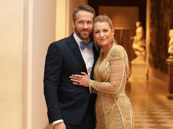 Lagi, Ryan Reynolds dan Blake Lively Sumbang Rp 6,5 Miliar Lawan Virus Corona