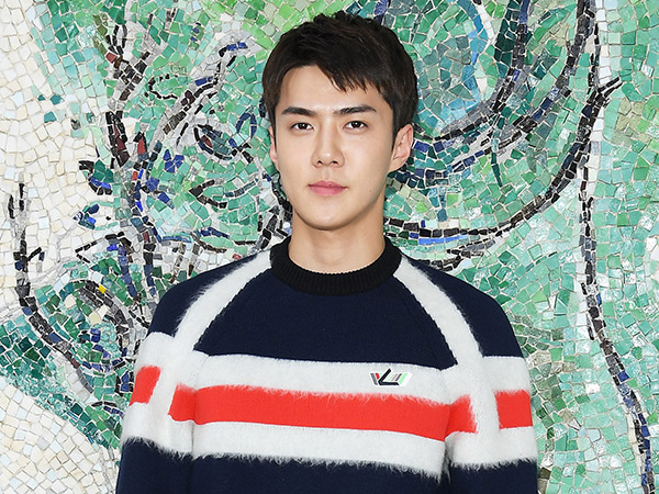 Lagi, Sehun EXO Dinobatkan Jadi Seleb 'Louis Vuitton' Paling Stylish oleh Majalah Vouge