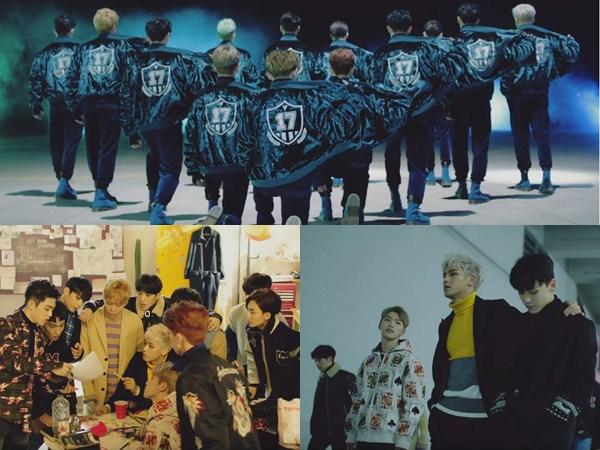 Lebih Dewasa, Seventeen Tetap Unjuk Kekompakan Pecahkan Jalan Keluar di MV 'Boom Boom'