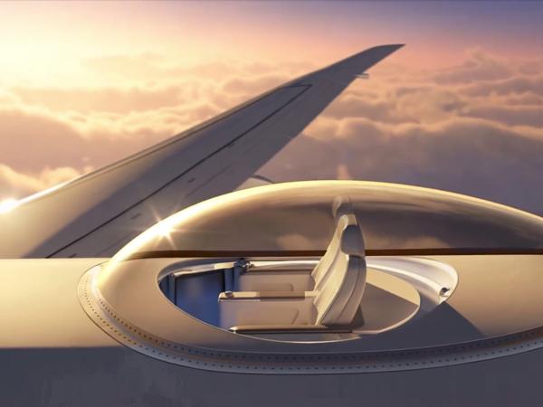 Cara Lain Nikmati Perjalanan, Berani Coba Sensasi Ekstrim Terbang Di Atas Pesawat?