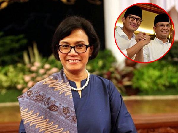4 Hal di Pemerintahan Anies-Sandi Ini Disorot Menteri Sri Mulyani