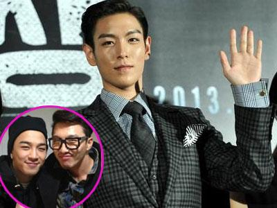 T.O.P Curhat Pada Kakak Taeyang Big Bang Soal Akting dan Syuting