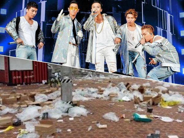 Perilaku Tak Terpuji Fans Usai Nonton Konser Big Bang Ini Tuai Kecaman Netizen!