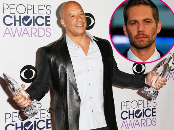 Kenang Paul Walker, Vin Diesel Ungkap Pesan Menyentuh di Panggung People's Choice Awards  2016