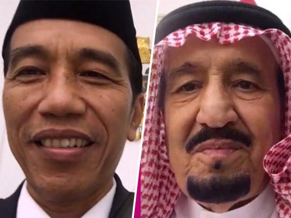 Hangat Dan Bersahaja, Video Jokowi dan Raja Salman Disebut Vlog 'Termahal'?