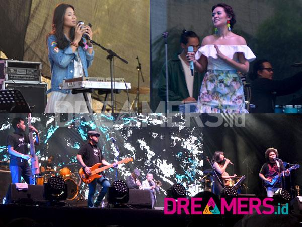 Parade Pamer Lagu Baru Musisi Dalam Negeri Warnai We The Fest 2017