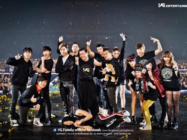 Empat Tahun Vakum, YG Entertainment Siap Gelar Tur Konser 'YG Family' Tahun Ini?