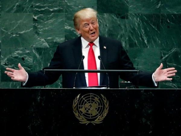 Respon 'Nyeleneh' Trump yang Pidato di PBB-nya Ditertawakan Pemimpin Dunia