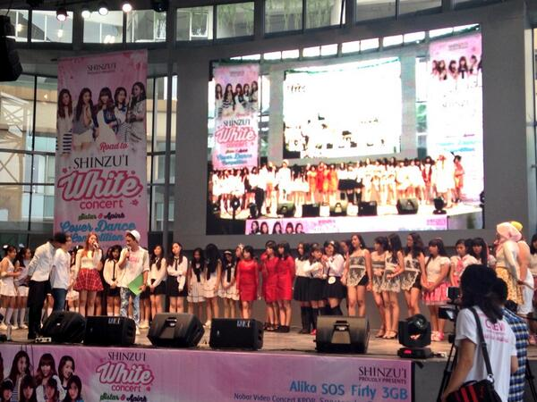 Ini Dia Pemenang Kompetisi Dance Cover Road to Shinzui White Concert 2014