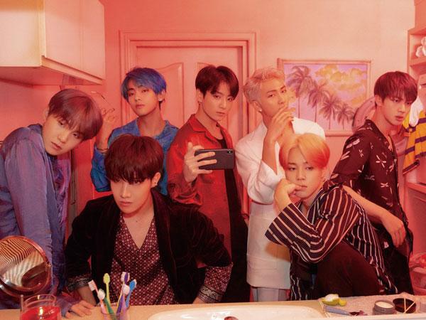 Comeback dengan 'Boy with Luv', BTS Langsung Puncaki Berbagai Chart Musik Hingga Buat Melon Down