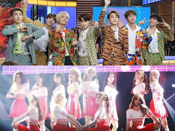 Congrats! BTS dan LOONA Raih Penghargaan di MTV Europe Music Awards 2018