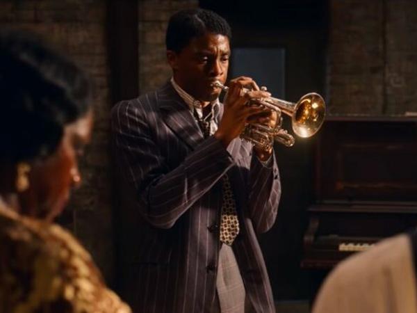 Aksi Chadwick Boseman Jadi Pemain Terompet di Film Terakhir