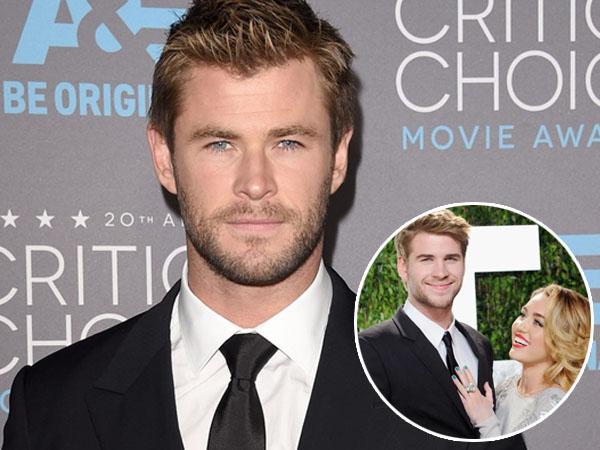 Ini Kata Chris Hemsworth Soal Rumor Hubungan Asmara Liam dan Miley Cyrus
