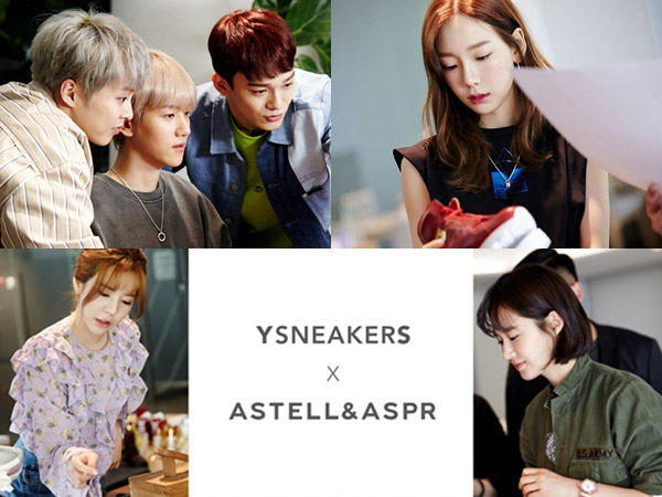 SNSD dan EXO-CBX Siap Luncurkan Sepatu Edisi Terbatas Kolaborasi Bareng Brand Singapura