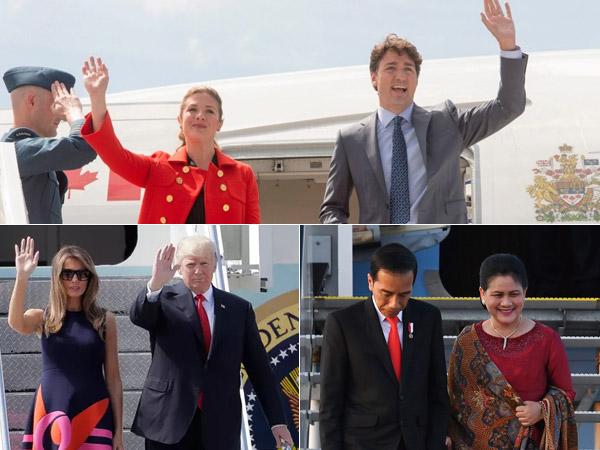 Termasuk Jokowi, Sederet Kepala Negara dan Pasangan Tiba di Jerman untuk KTT G20