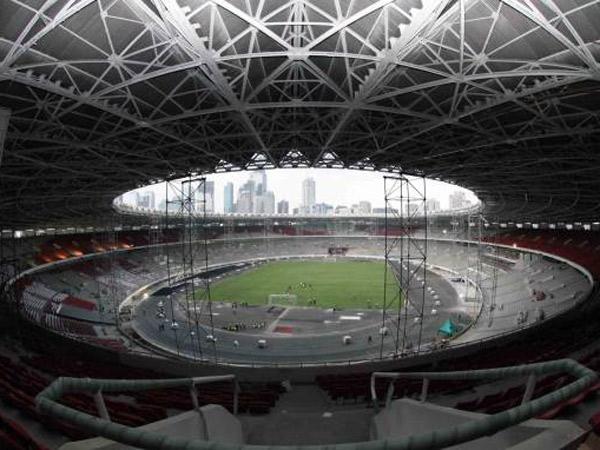 Stadion Utama GBK 'Berdandan', Begini Penampilan Terbarunya!