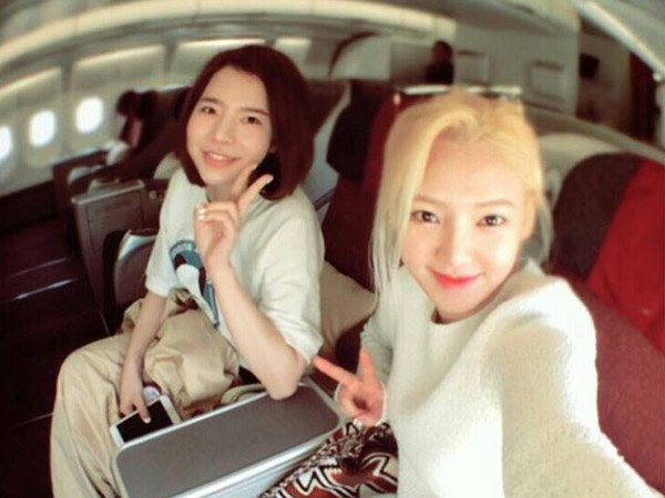 Masih Seminggu Jelang Konser Di Jakarta, Hyoyeon dan Sunny SNSD Berada di Bali?