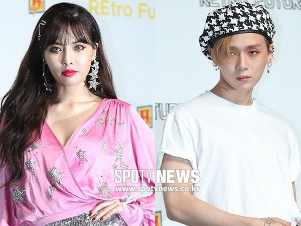 HyunA dan E'Dawn Dilaporkan Hengkang dari Cube Entertainment