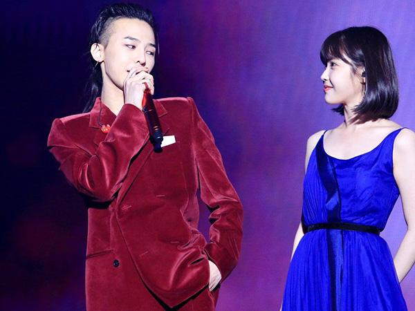 G-Dragon Dikonfirmasi 'Gantian' Jadi Bintang Tamu Konser IU